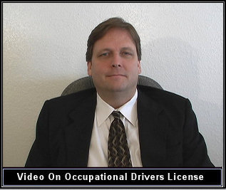 An occupational drivers license video by a Texas attorney Larry Dassow