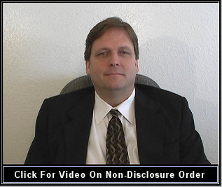 A order of nondisclosure and sealing of records video by a Texas attorney Larry Dassow.